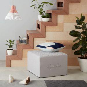 Single sofa bed seat - grey