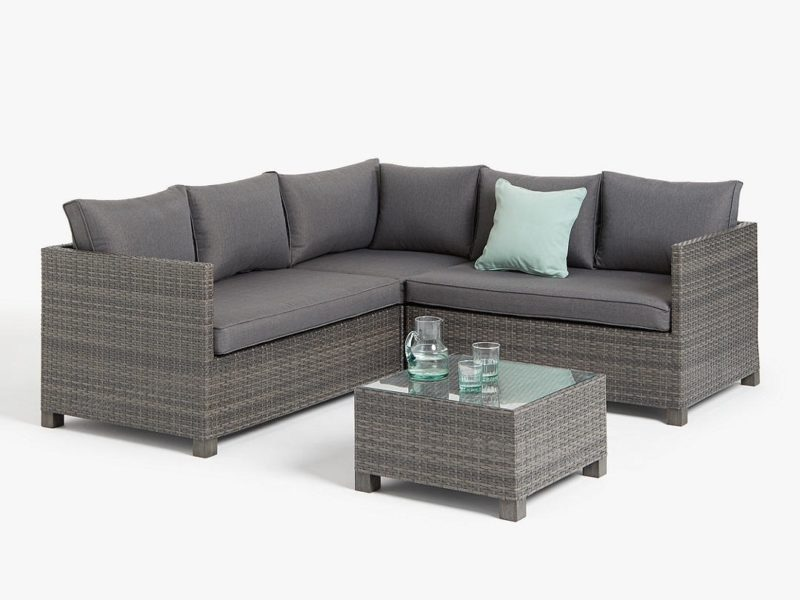 Outdoor rattan corner group