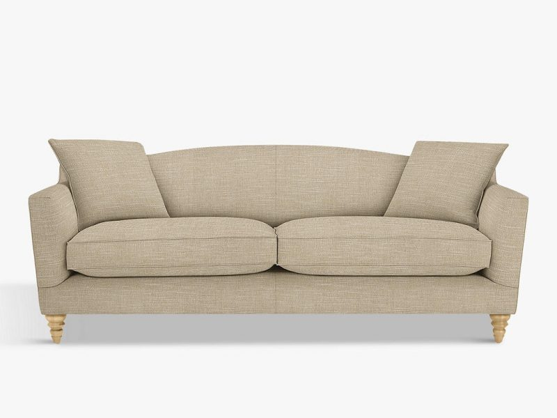 4-seater fabric upholstered sofa