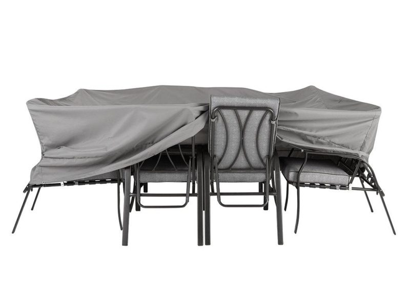 Grey cover for outdoor furniture