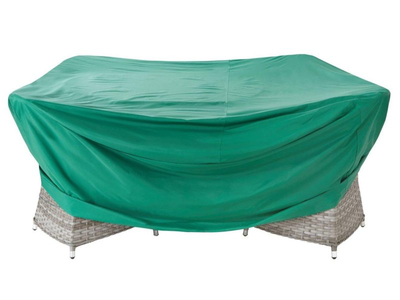 Large circular garden furniture cover