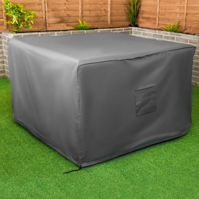 Large grey furniture cover