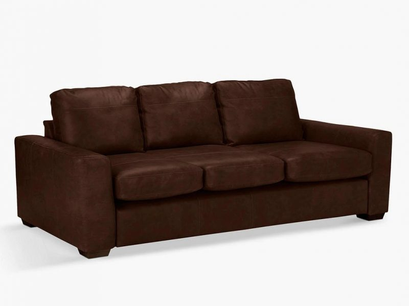 4-seater leather sofa