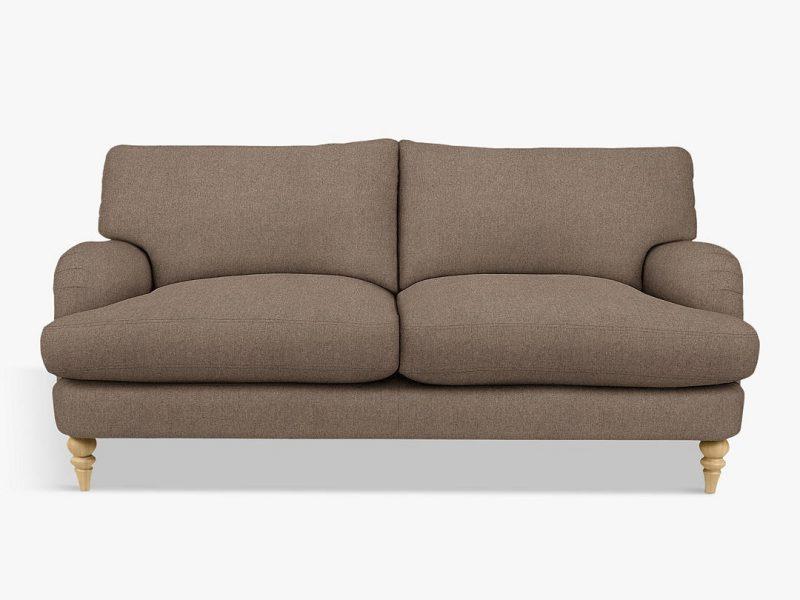 Natural colour 3-seater sofa