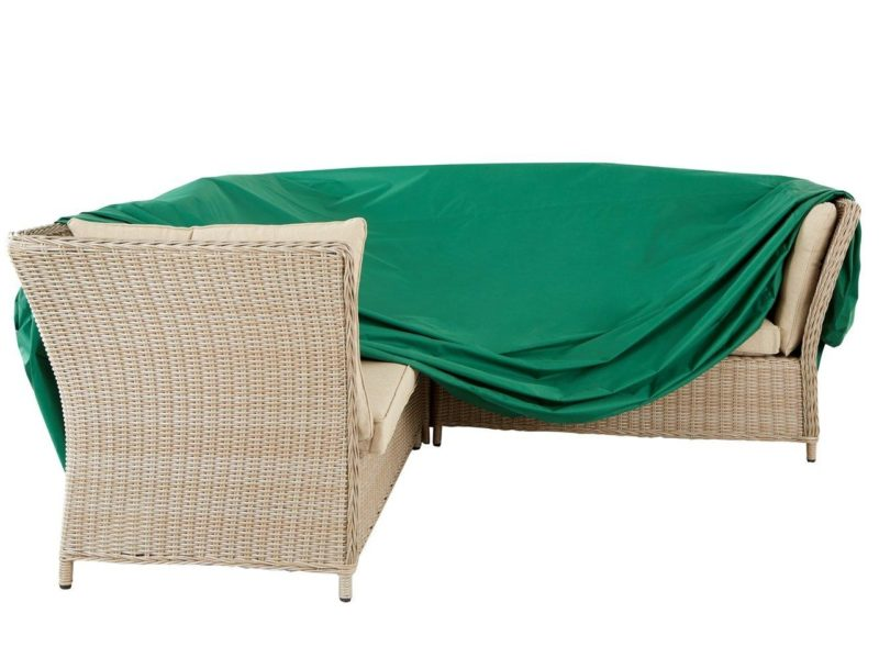 Outdoor corner furniture cover