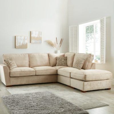 Right handed corner sofa