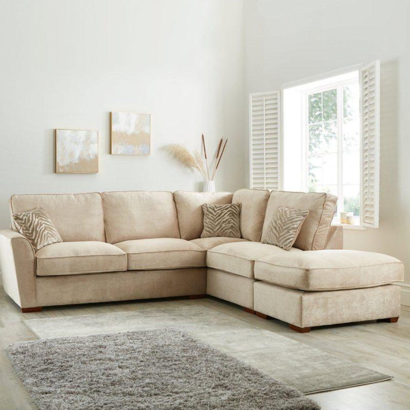 Right handed corner sofa