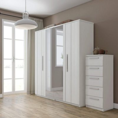White bedroom furniture range