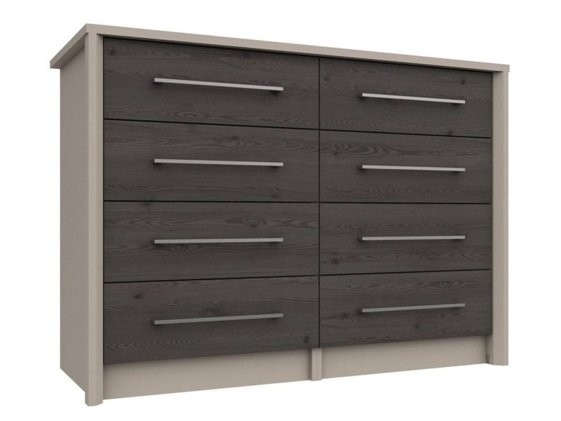 Wide 8 drawer chest