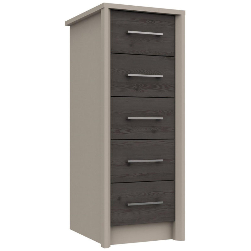 Slimline 5 drawer chest