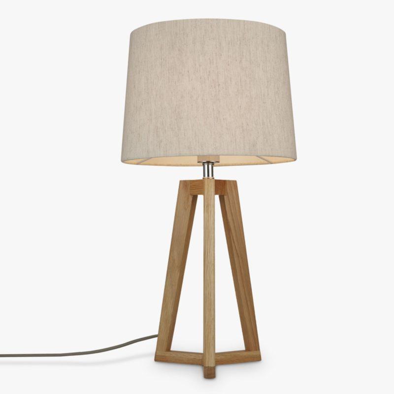 Contemporary tripod table lamp