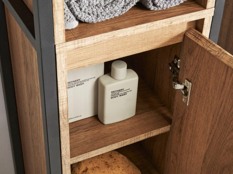Interior of Linley tallboy cupboard
