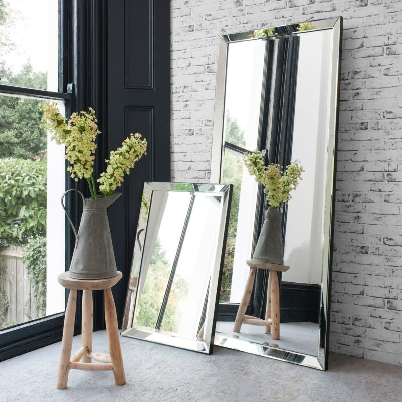 Large rectangular mirrors