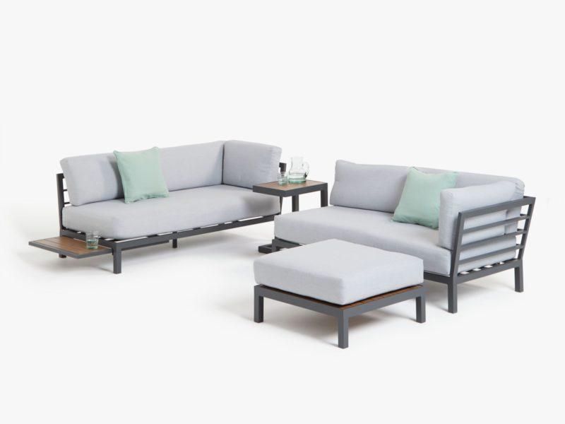 4-piece garden furniture set