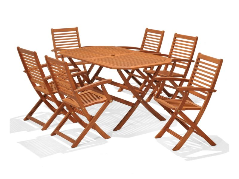 6-seater outdoor dining set