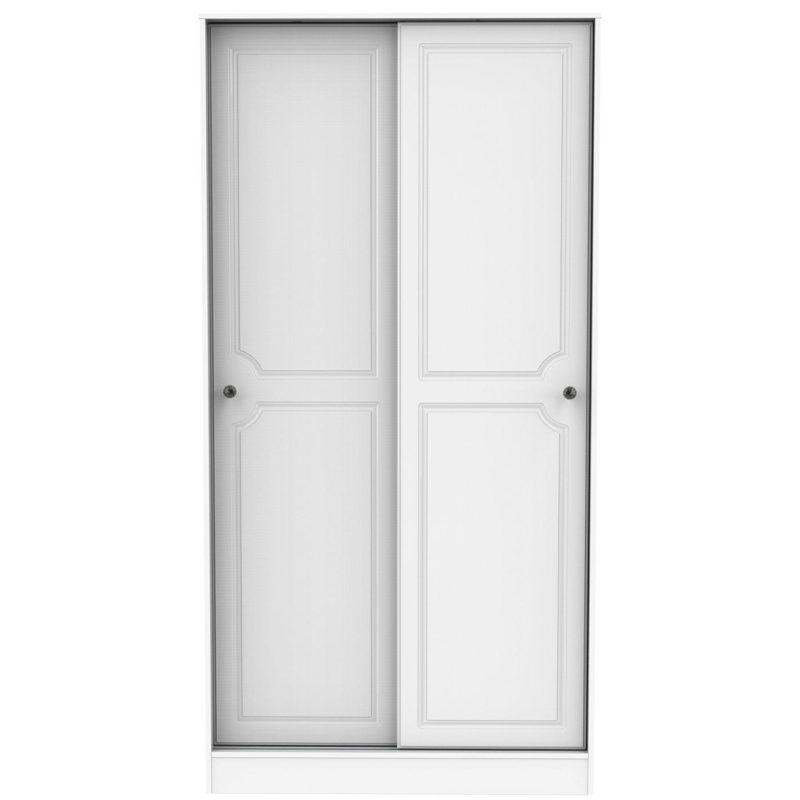 2 door wardrobe with sliding doors