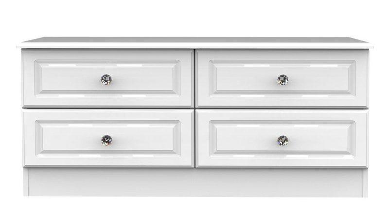 4-drawer horizontal chest