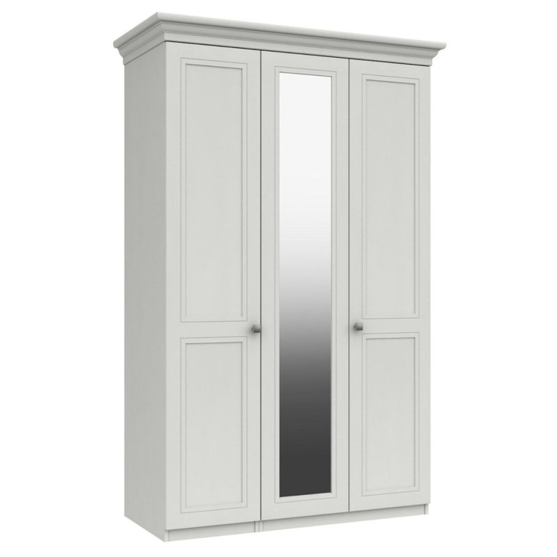 3 door mirrored wardrobe