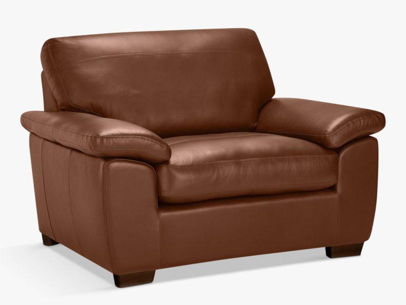 Tan leather snuggler
