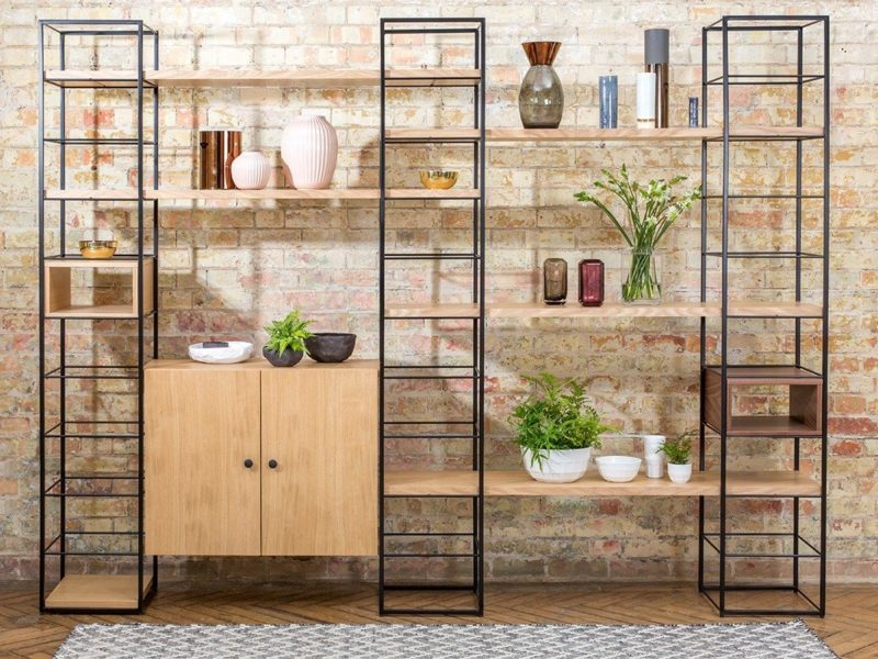 Modular display shelving