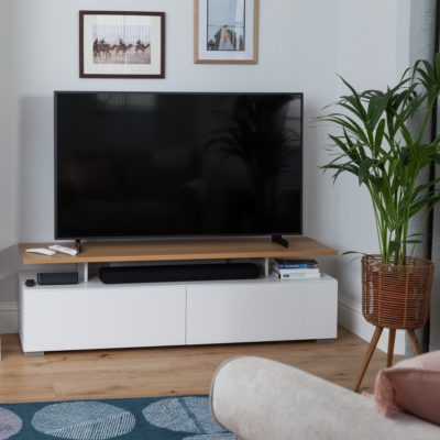 Floating shelf TV unit