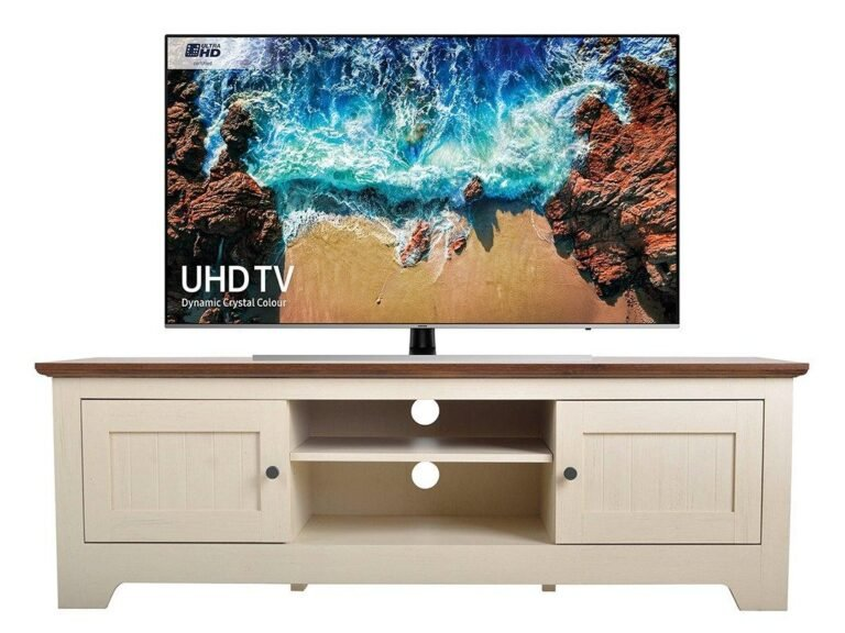 Ivory TV Stand