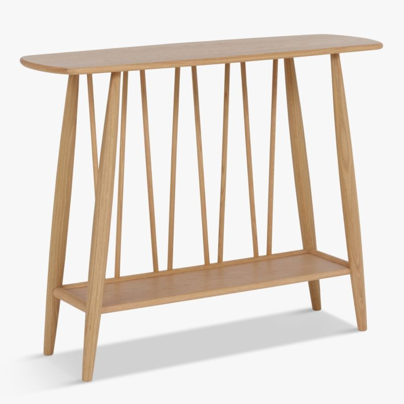 Spindle frame console table