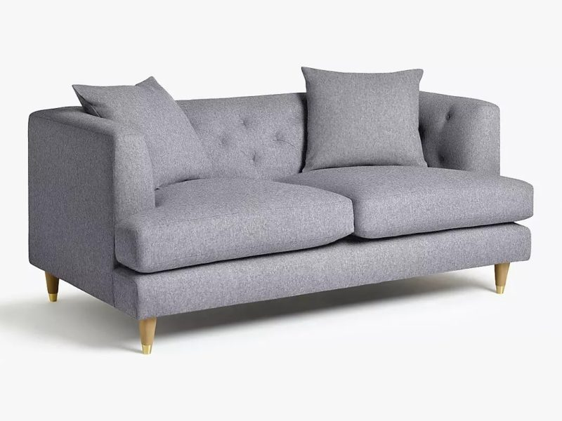 Modern Chesterfield-style 2 seater sofa