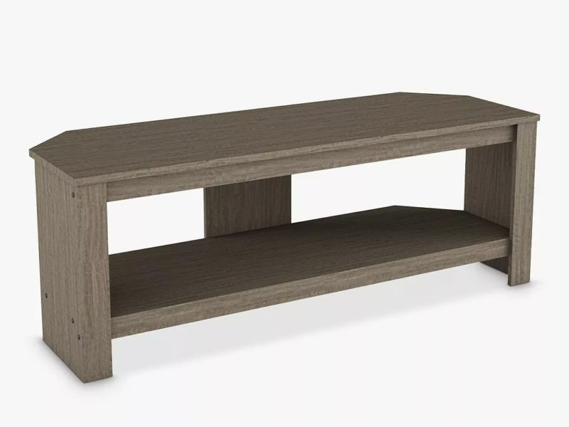 TV Stand with grey oak finish