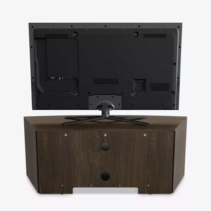 TV stand with back panel