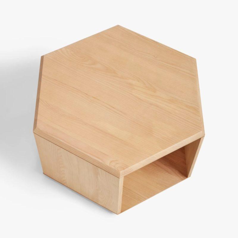 Hexagonal coffee table top