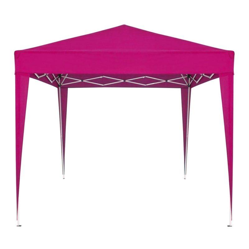 Pink foldaway gazebo