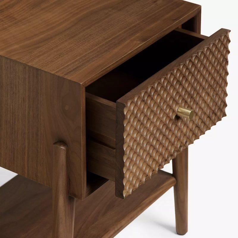 Carved drawer detail