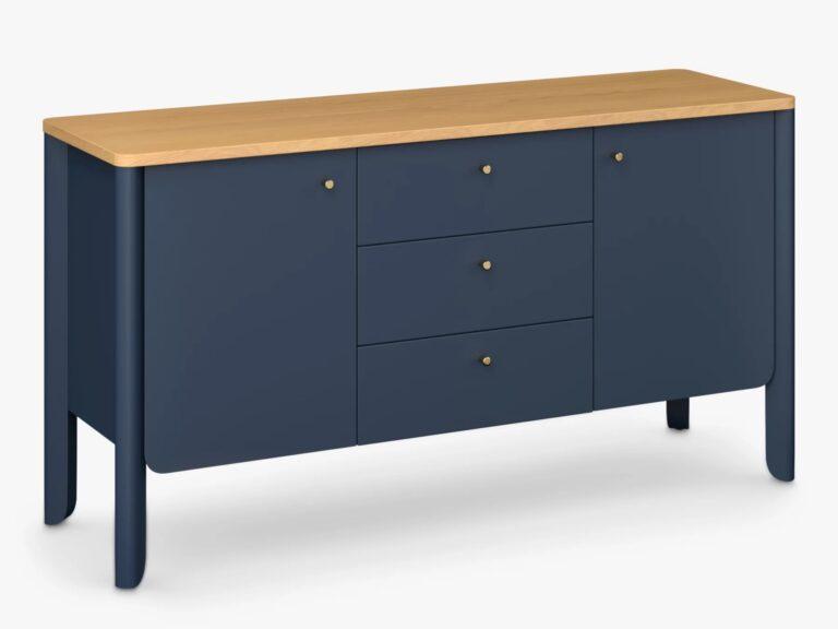 Ink blue sideboard unit