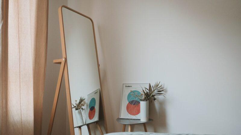 Freestanding Mirror