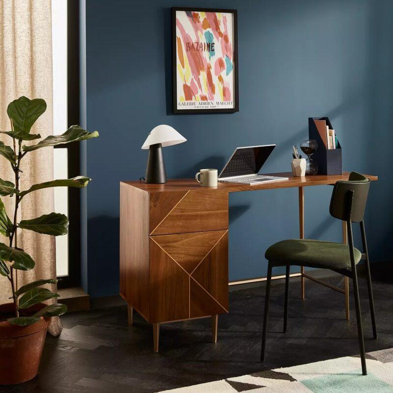Designer home desk