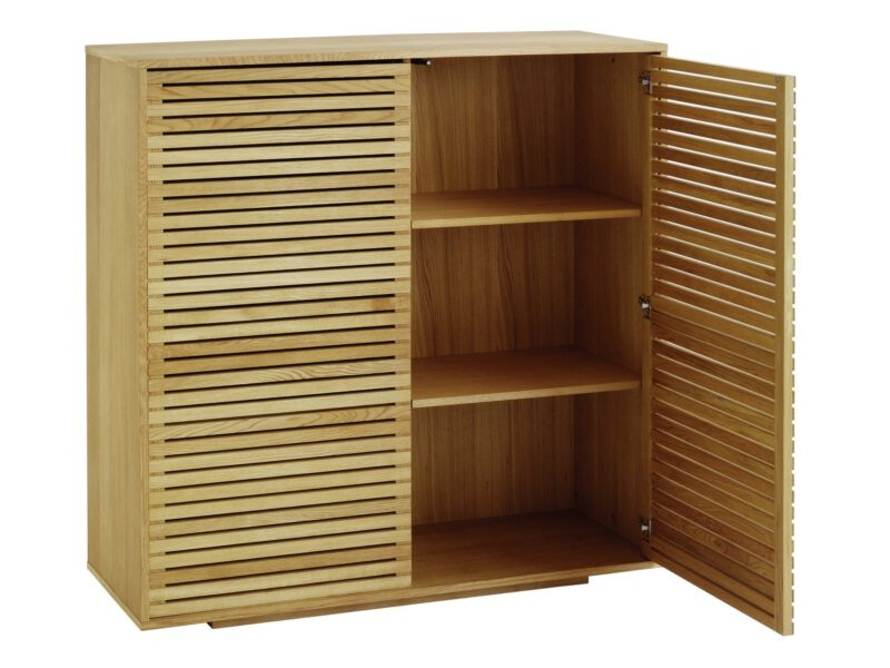 Large 2 door oak sideboard