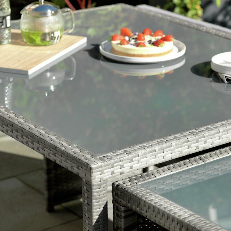 Easy store garden tables