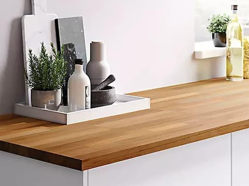 Wood worktop