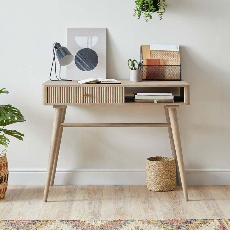 Mango desk/console table