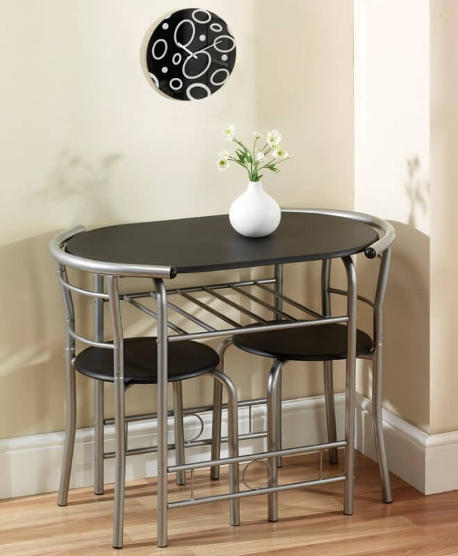 Black Dining Tables For Tiny Spaces The Furniture Co