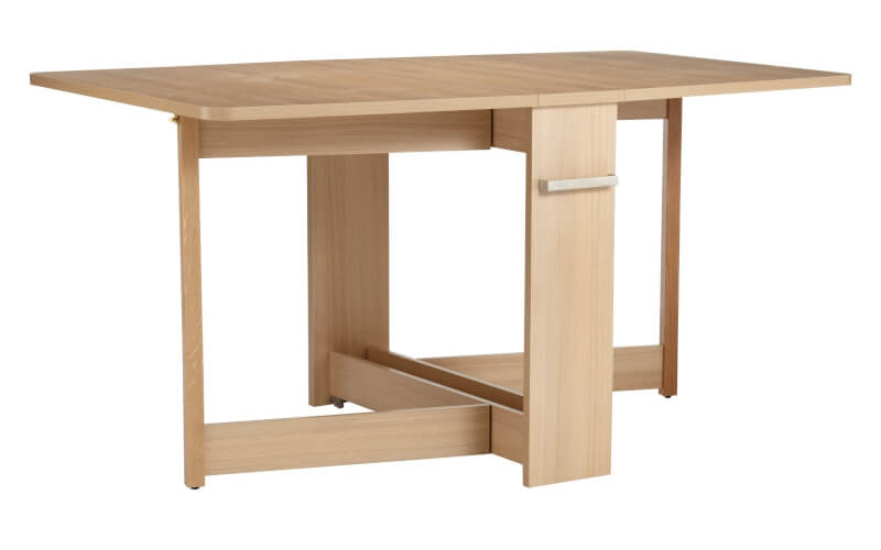 Dining Tables for Tiny Spaces The Furniture Co : Croyde 6 Seater Drop Leaf Folding Dining Table from thefurnitureco.uk size 800 x 500 jpeg 16kB