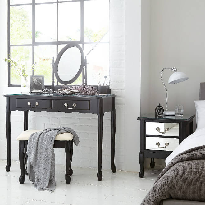 Elysee bedroom range the furniture co for Furniture at the range