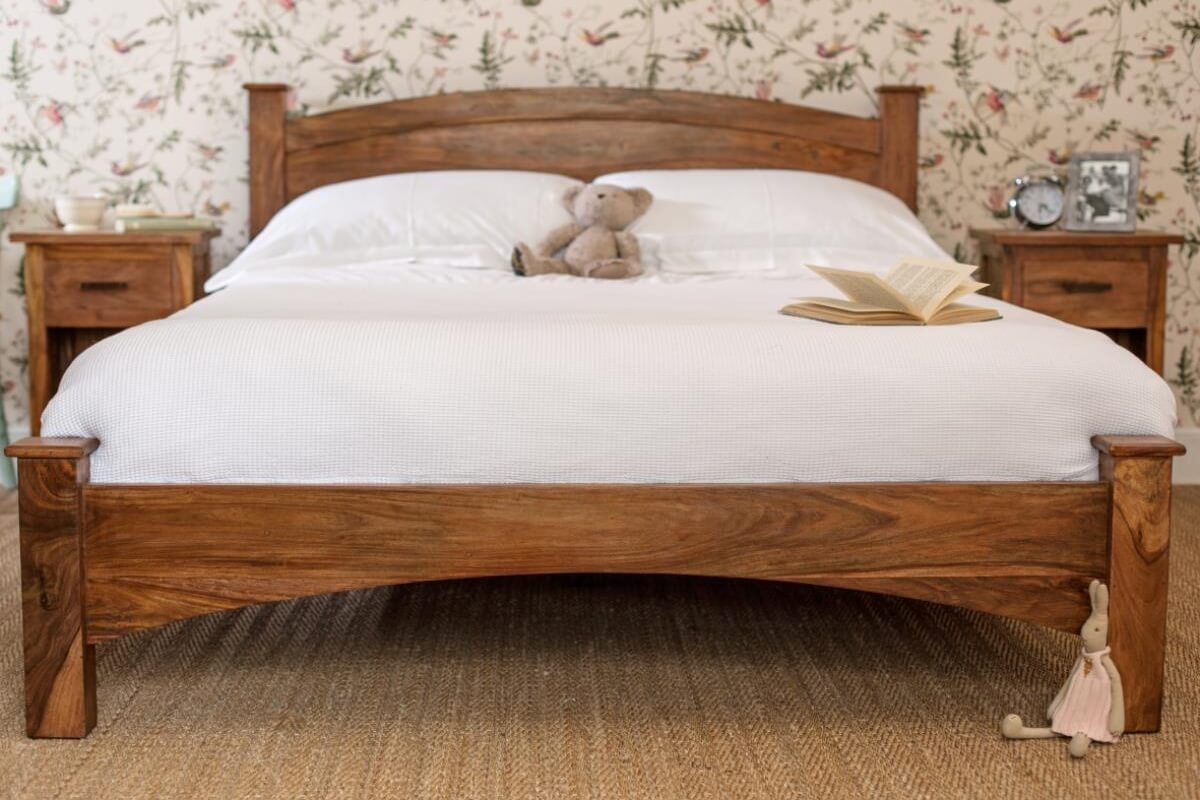 Sheesham beds the furniture co for M s bedroom furniture uk
