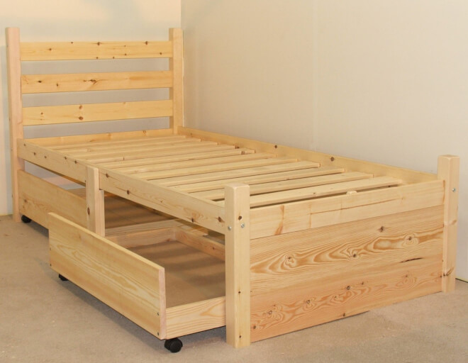 Divan Beds And Bed Frames With Combined Storage The