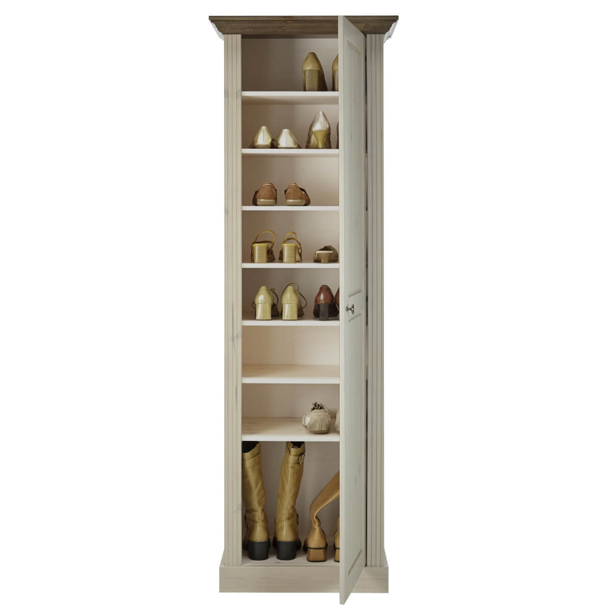 Hallway shoe cabinets the furniture co for Cupboard cabinet