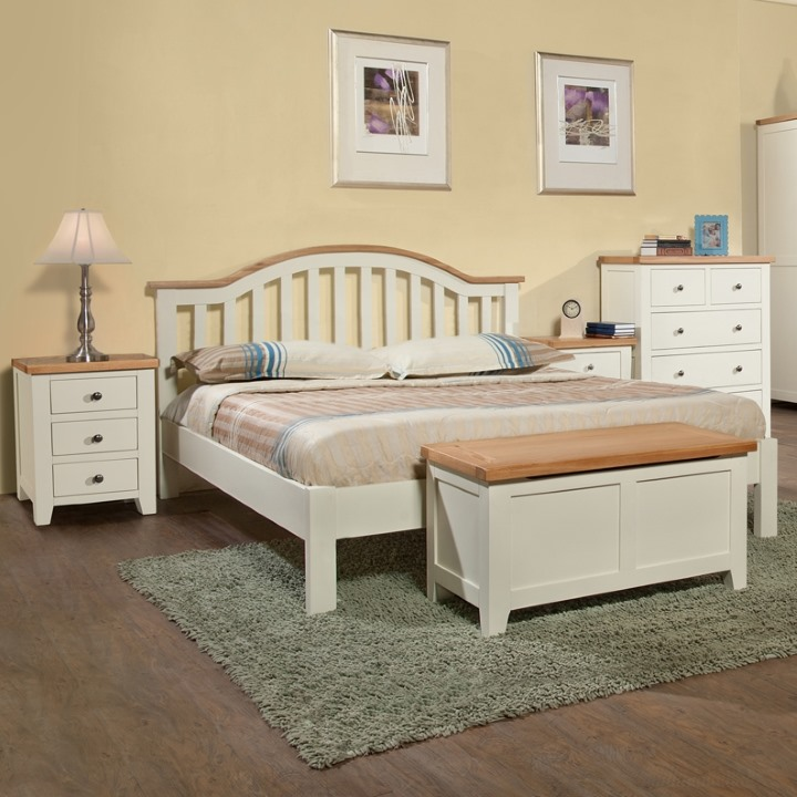 cream painted beds the furniture co